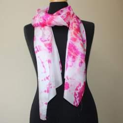 Sakura Silk paj scarf length 176cm x 45cm