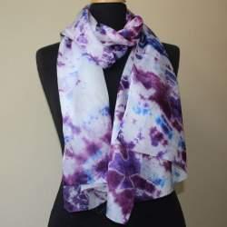 Samarkand Silk paj scarf length 173cm x 45cm