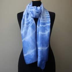Malacca Silk paj scarf length 193cm x 46cm