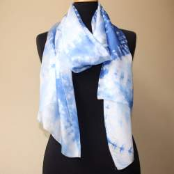 Penang Silk paj scarf length 190cm x 45cm