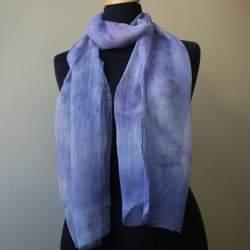 Kokand1 Silk chiffon scarf length 180cm x 36cm