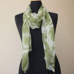 Amul Silk chiffon scarf length 194cm x 40cm