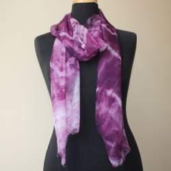 Kashgar Silk chiffon scarf length 191cm x 35cm
