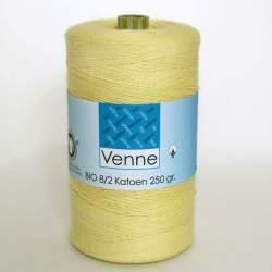 Venne 8/2 Organic Unmercerised Cotton - Very Light Yellow 5-1021