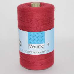 Venne 8/2 Organic Unmercerised Cotton - Burgundy 5-3039