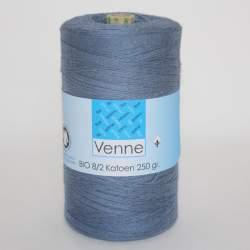 Venne 8/2 Organic Unmercerised Cotton - Steel Blue 5-4003