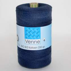 Venne 8/2 Organic Unmercerised Cotton - Dark Blue 5-4005