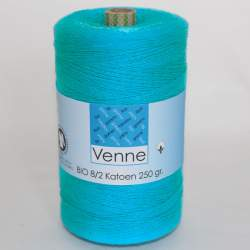 Venne 8/2 Organic Unmercerised Cotton - Turquoise 5-4007