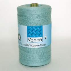 Venne 8/2 Organic Unmercerised Cotton - Light Blue 5-4008