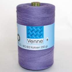Venne 8/2 Organic Unmercerised Cotton - Dark Lilac 5-4022