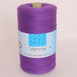 Venne 8/2 Organic Unmercerised Cotton - Medium Purple 5-4023