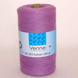 Venne 8/2 Organic Unmercerised Cotton - Easter Purple 5-4031