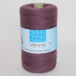 Venne 8/2 Organic Unmercerised Cotton - Mauve 5-4071