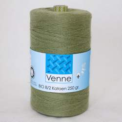Venne 8/2 Organic Unmercerised Cotton - Khaki 5-5001