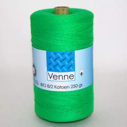 Venne 8/2 Organic Unmercerised Cotton - Green 5-5002