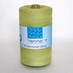 Venne 8/2 Organic Unmercerised Cotton - Lime 5-5025