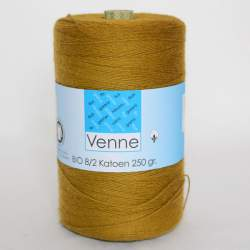 Venne 8/2 Organic Unmercerised Cotton - Brass 5-5041