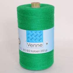 Venne 8/2 Organic Unmercerised Cotton - Shamrock 5-5052