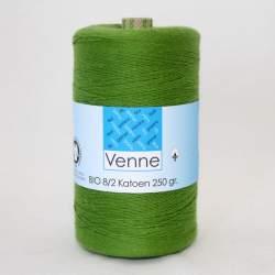 Venne 8/2 Organic Unmercerised Cotton - Fern Green 5-5053