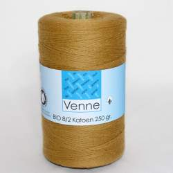 Venne 8/2 Organic Unmercerised Cotton - Golden Brown 5-6002