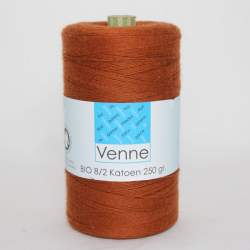 Venne 8/2 Organic Unmercerised Cotton - Maron 5-6003