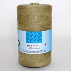 Venne 8/2 Organic Unmercerised Cotton - Sandy Brown 5-6005