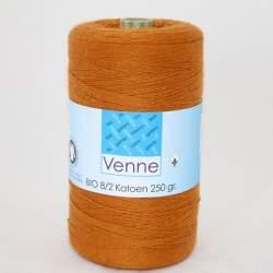 Venne 8/2 Organic Unmercerised Cotton - Burnt Orange 5-6044