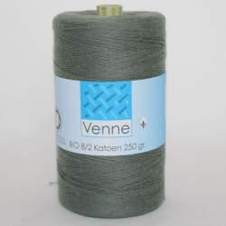 Venne 8/2 Organic Unmercerised Cotton - Gun Metal Grey 5-7003