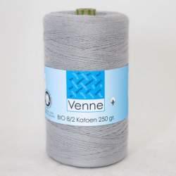 Venne 8/2 Organic Unmercerised Cotton - Light Stone Grey 5-7023