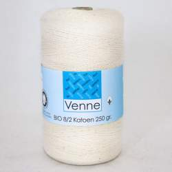 Venne 8/2 Organic Unmercerised Cotton - Cream 5-7100