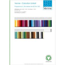 Venne 8/2 Organic Unmercerised Cotton Colour Card