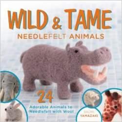 Wild and tame needlefelt animals by Saori Yamazaki