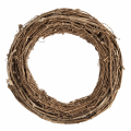 Natural willow wreath 30cm